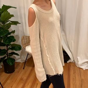 Open Shoulder Free People Sweater